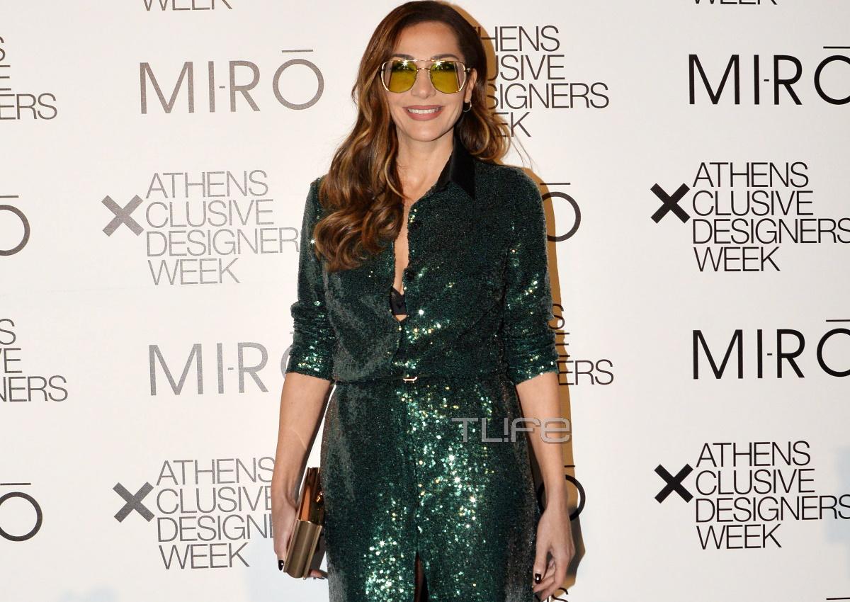 Δέσποινα Βανδή: Η λαμπερή εμφάνισή της στο fashion show των MI-RO! [pics]