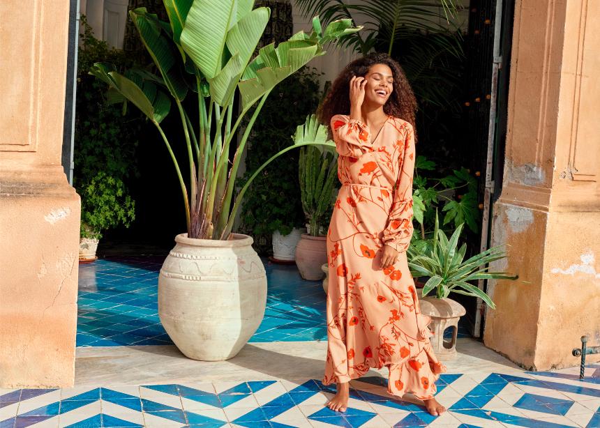 Η H&M συνεργάζεται με την Johanna Ortiz σε μία συλλογή με τέλεια φορέματα!