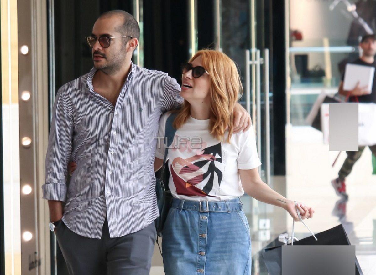 Μαρία Ηλιάκη – Στέλιος Μανουσάκης: Είναι full in love! Αγκαλιά σε γνωστό εμπορικό κέντρο [pics]   tlife.gr