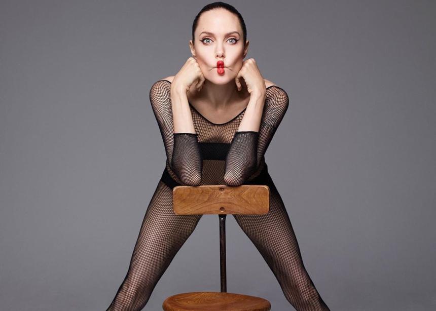 Angelina is back!Δες αυτό το editorial και θα καταλάβεις! | tlife.gr