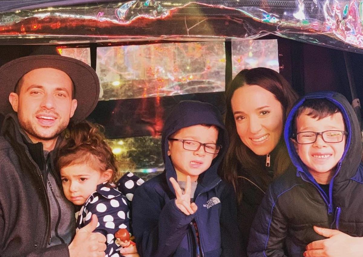 Καλομοίρα: Μαγικές στιγμές με την οικογένειά της στη Νέα Υόρκη! [pics,vids]