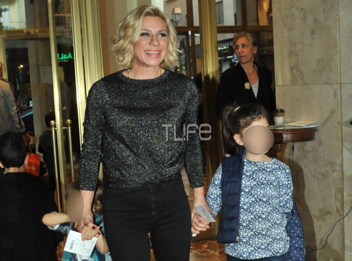 Κατερίνα Καραβάτου: Πέρασε το Σάββατο με τα παιδιά της! Πού έδωσαν το παρών [pics] | tlife.gr