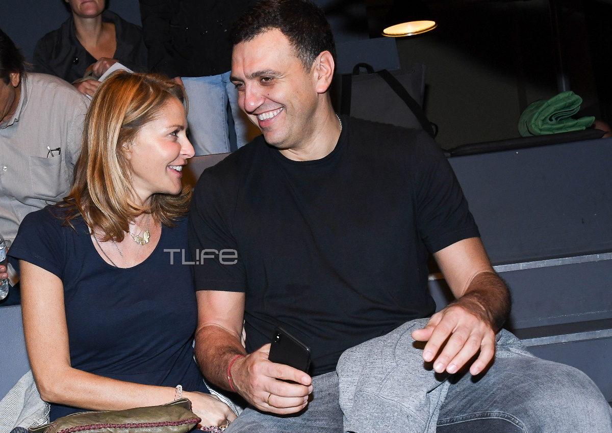 Τζένη Μπαλατσινού – Βασίλης Κικίλιας: Ερωτευμένοι στο θέατρο! [pics] | tlife.gr