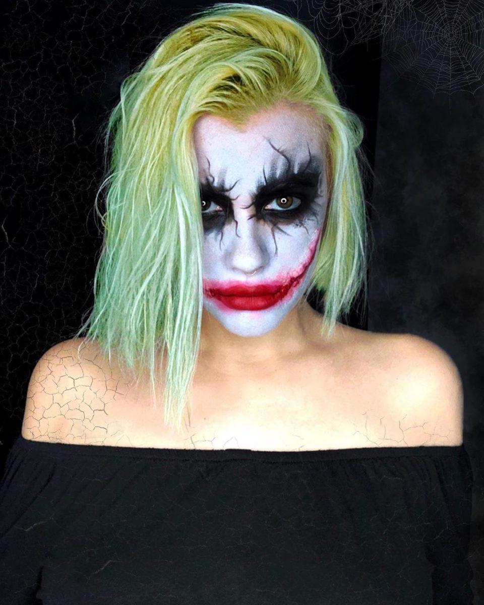 Ο… Τζόκερ που βλέπεις είναι Ελληνίδα παρουσιάστρια! Και έκανε το μακιγάζ μόνη της! ΒΙΝΤΕΟ | tlife.gr