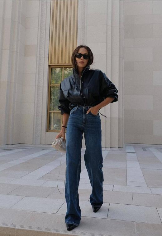 Παρίσι με leather top | tlife.gr