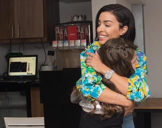Ελένη Φουρέιρα: Έκανε ευτυχισμένη την 9χρονη Νικολέττα! Φωτογραφίες