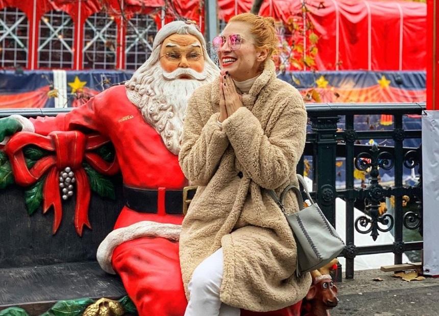 Μαρία Ηλιάκη: Απολαμβάνει την χριστουγεννιάτικη Ζυρίχη! [pics,vid] | tlife.gr