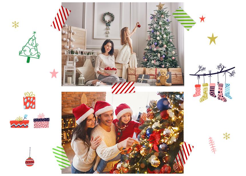 Μαμά, να στολίσουμε αύριο το Χριστουγεννιάτικο Δέντρο; Tips για τον πιο ασφαλή στολισμό!