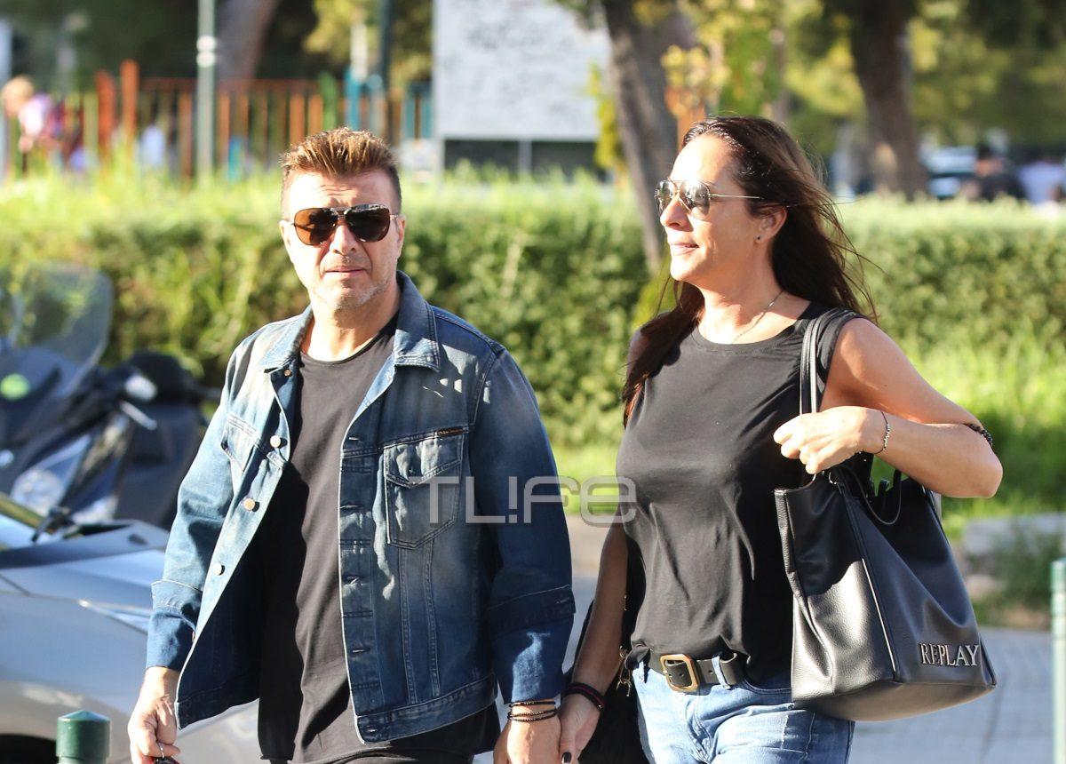 Γιάννης Πλούταρχος: Με την σύζυγό του Μαρία στη Γλυφάδα: [pics] | tlife.gr