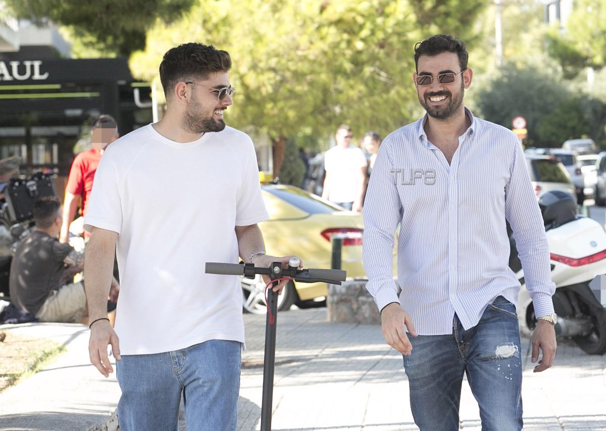 Νίκος Πολυδερόπουλος: Ξένοιαστες στιγμές με τον αδελφό του! Φωτογραφίες