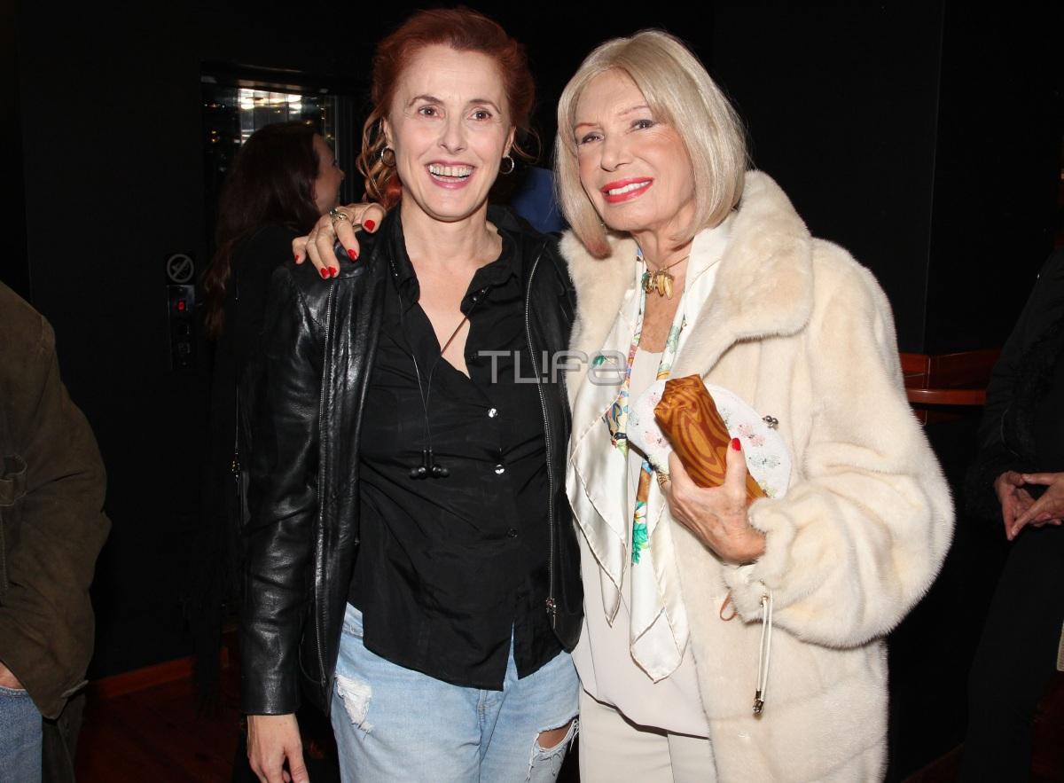 Ρίκα Διαλυνά: Στα 88 της είναι μια κούκλα! Φωτογραφίες από βραδινή της έξοδο