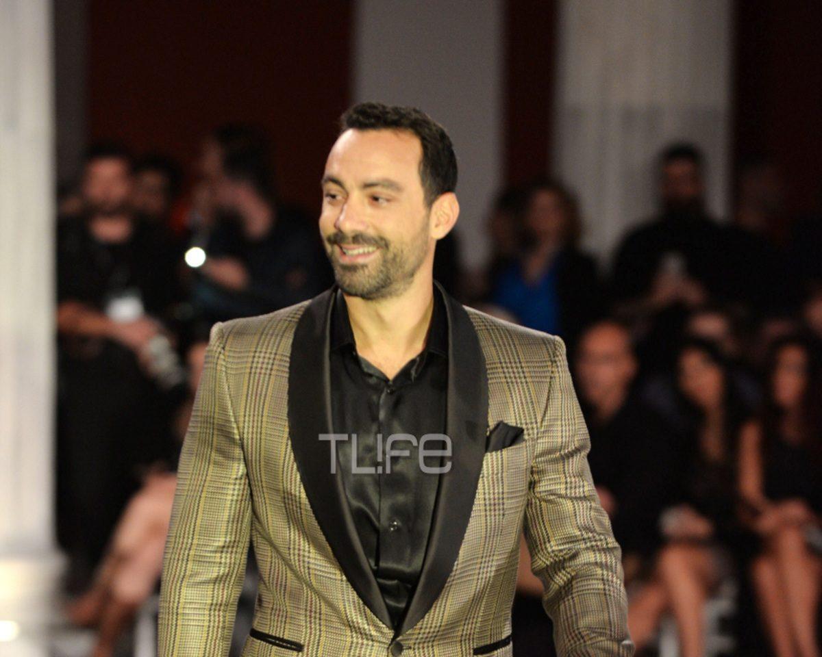 Σάκης Τανιμανίδης: Σε ρόλο μοντέλου στην εβδομάδα μόδας! Φωτογραφίες   tlife.gr