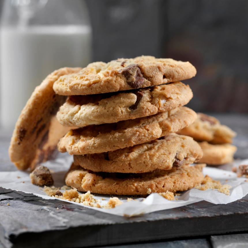 Cookies με φυστικοβούτυρο