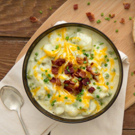 Βελουτέ σούπα με πατάτα | tlife.gr