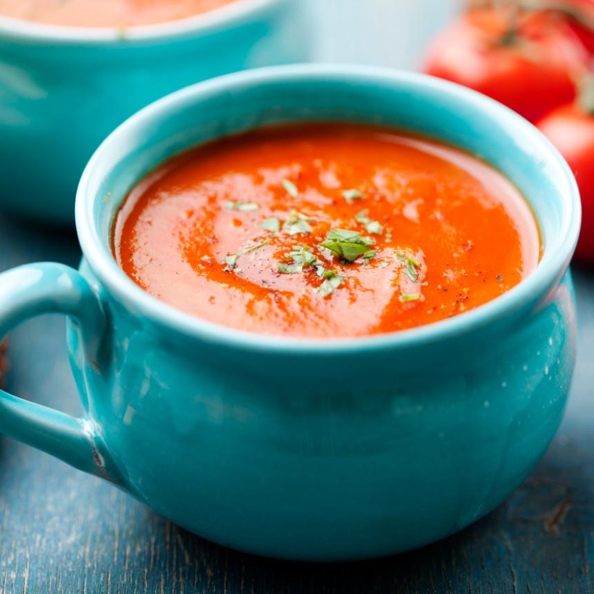 Νόστιμη ντοματόσουπα