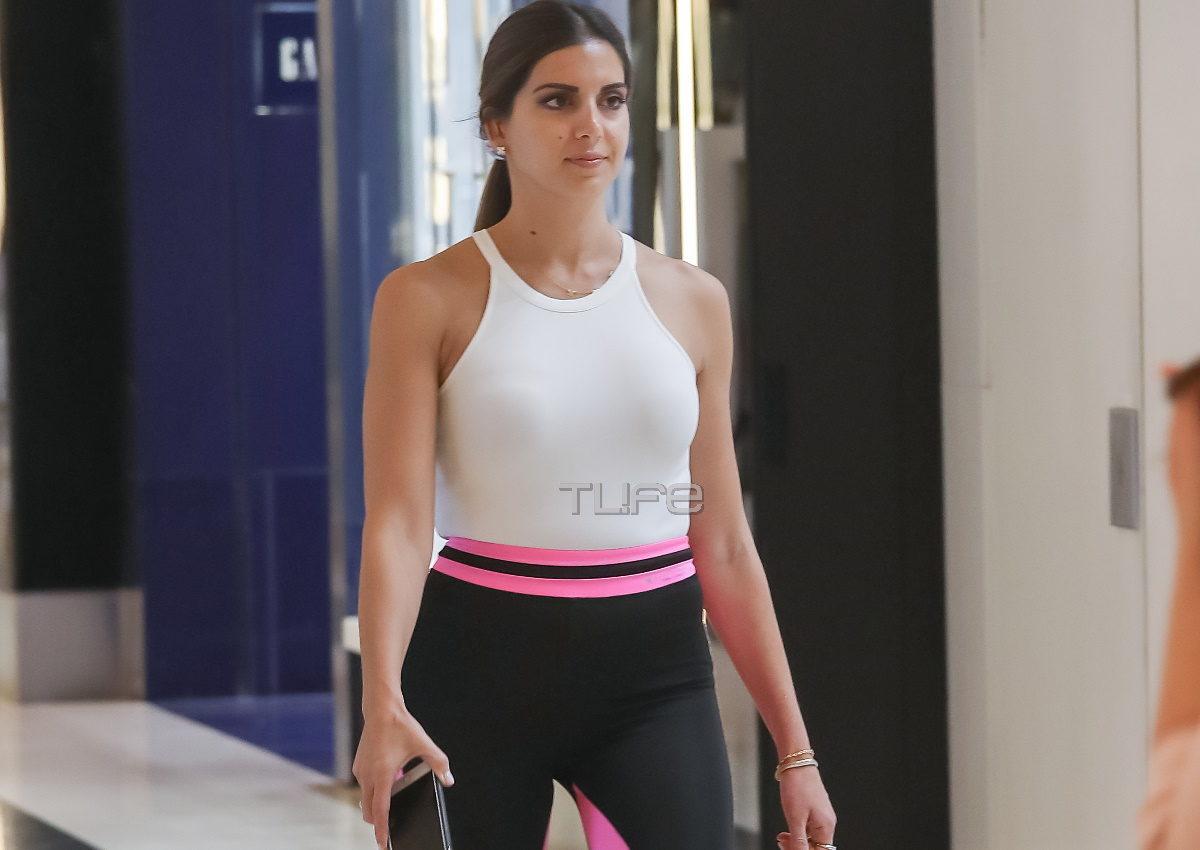 Σταματίνα Τσιμτσιλή: Με sporty look για αγορές στο Μαρούσι – Η συνάντηση που την χαροποίησε [pics] | tlife.gr