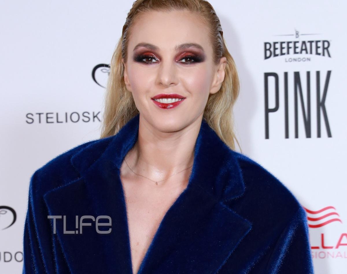 Τάμτα: Chic στα μπλε, στο fashion show του Στέλιου Κουδουνάρη! [pics]
