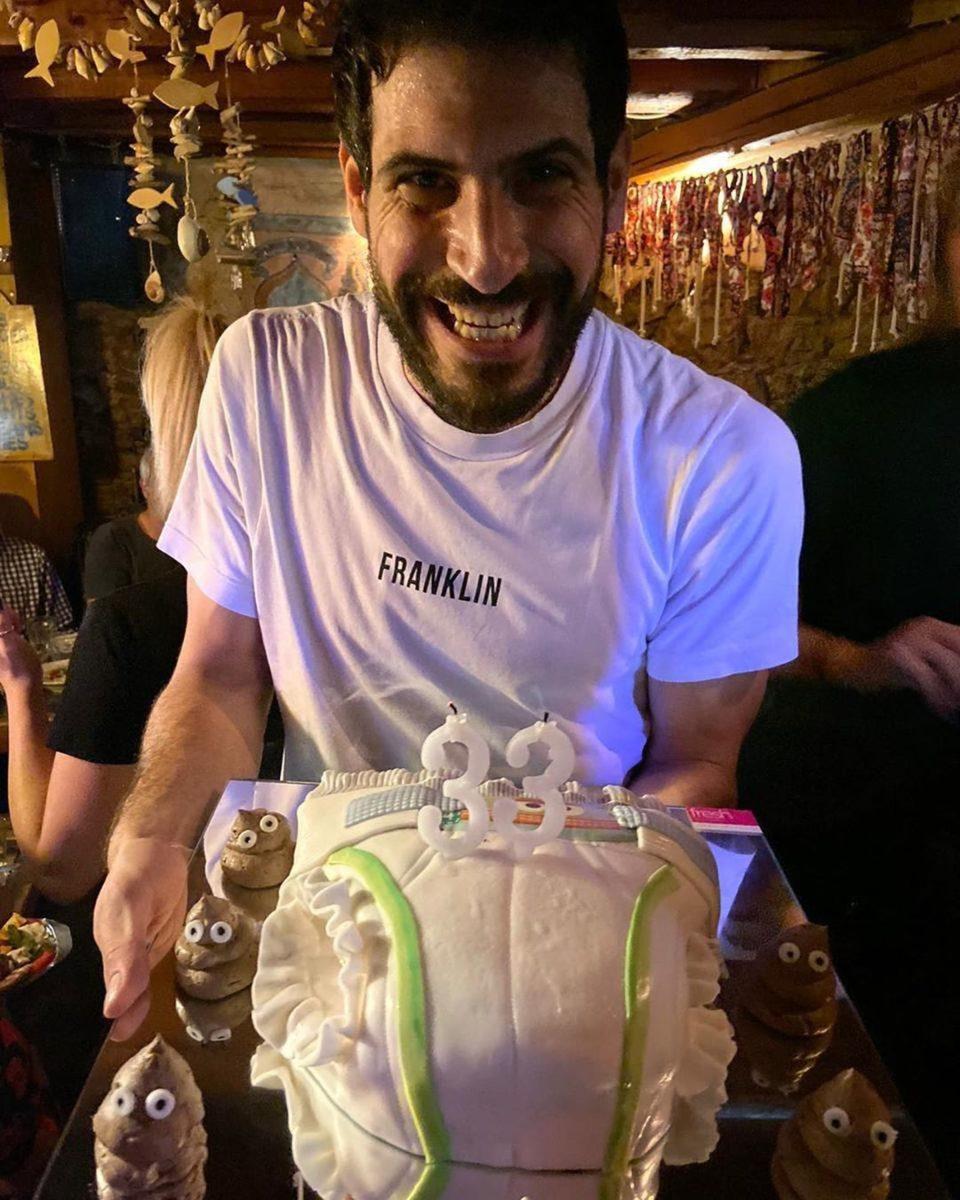 Θανάσης Πατριαρχέας: Η έκπληξη που του έκανε η αγαπημένη του για τα γενέθλιά του και η τούρτα… πάνα! VIDEO | tlife.gr