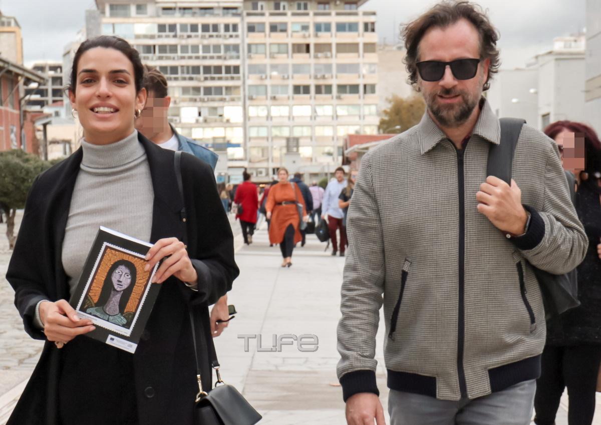 Τόνια Σωτηροπούλου – Κωστής Μαραβέγιας: Πρωινή βόλτα στο λιμάνι της Θεσσαλονίκης! [pics]