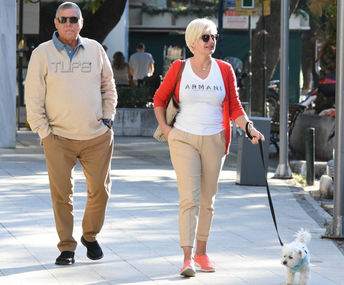 Γιώργος Τράγκας – Μαρία Καρρά: Λατρεύουν τις βόλτες με τον Αστερίξ! Φωτογραφίες   tlife.gr