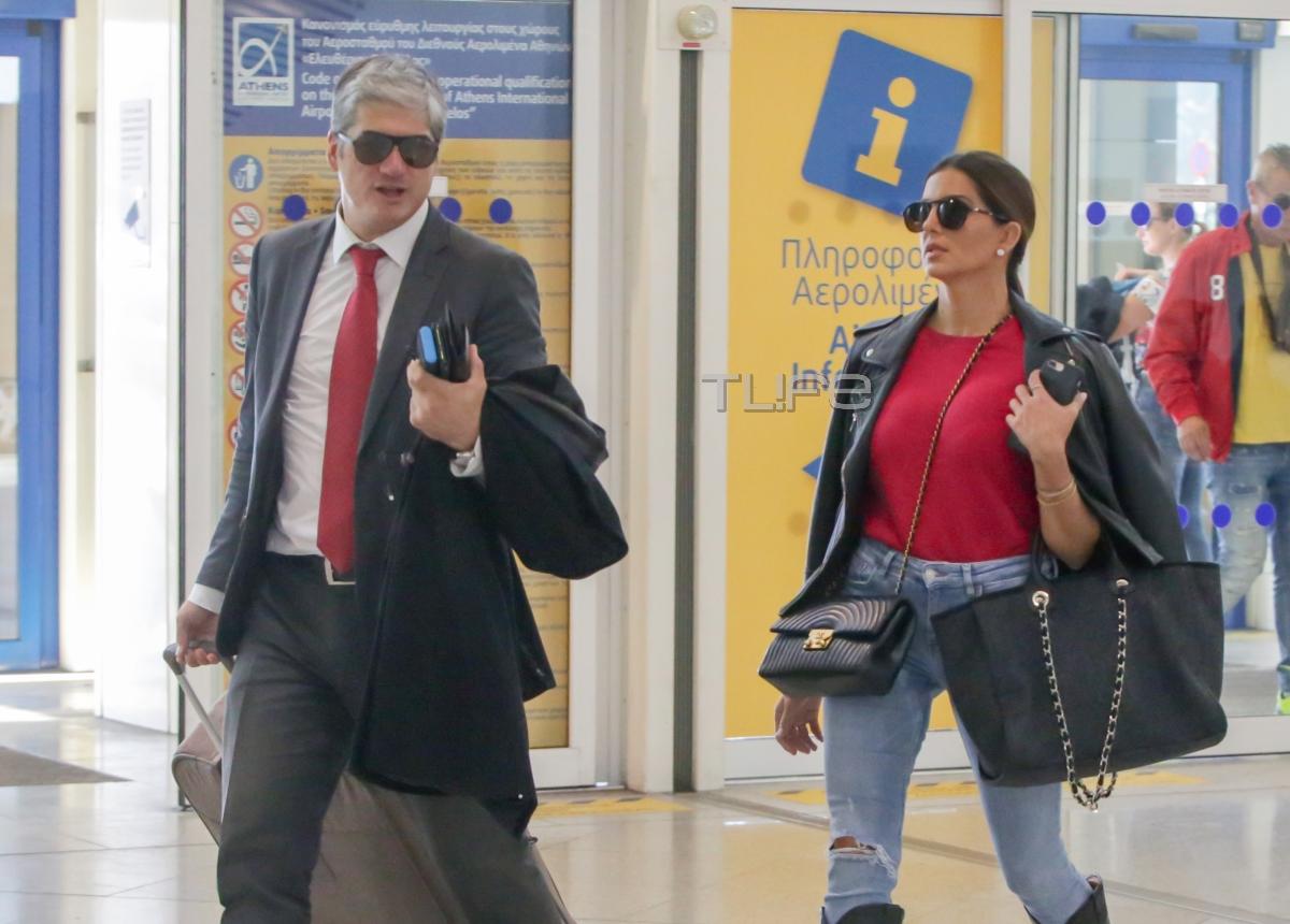 Σταματίνα Τσιμτσιλή: Το ρομαντικό ταξίδι στο εξωτερικό με τον Θέμη Σοφό! [pics]
