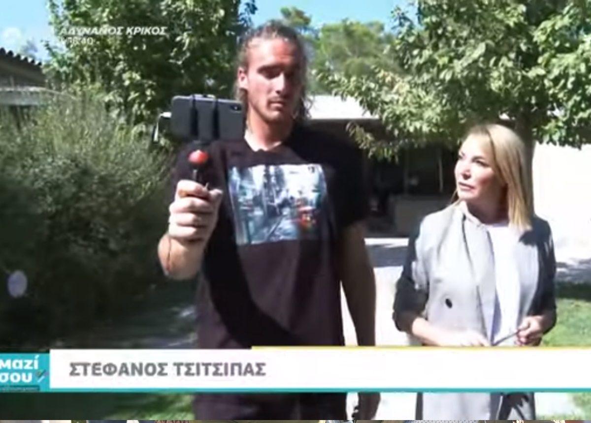 Στέφανος Τσιτσιπάς: Τι αποκάλυψε στην Τατιάνα Στεφανίδου λίγο πριν τον μεγάλο τελικό! [video]   tlife.gr