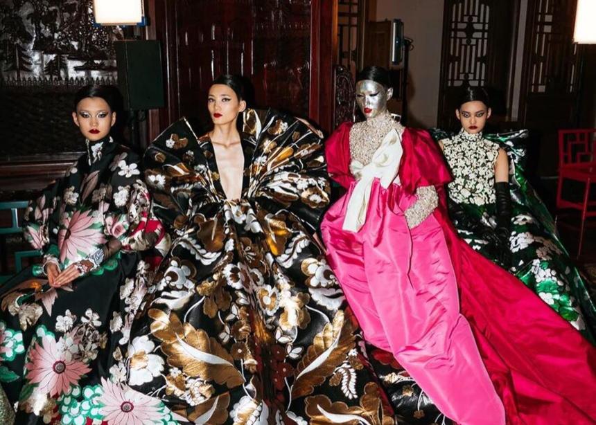Το Couture show του Valentino στο Πεκίνο