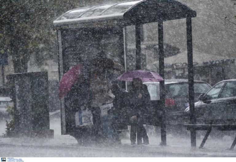 Νέο έκτακτο δελτίο επιδείνωσης του καιρού: Βροχές, χαλαζοπτώσεις και θυελλώδεις νοτιάδες