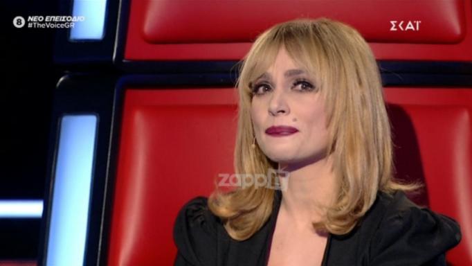 Λύγισε η Ελεωνόρα Ζουγανέλη στο The Voice! [video] | tlife.gr