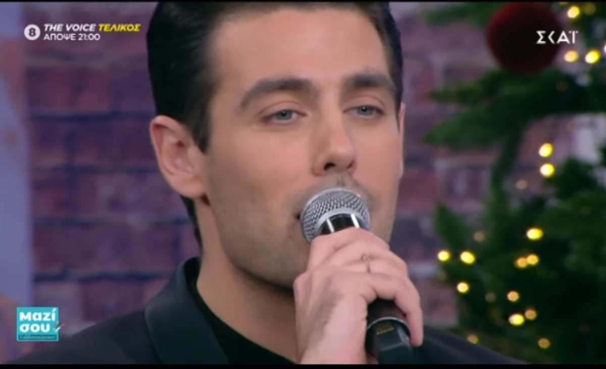 Κώστας Μαρτάκης: Μαγεύει στο Μαζί σου, στο πάρτι με τους πρωταγωνιστές της «Παριζιάνας»! Βίντεο | tlife.gr