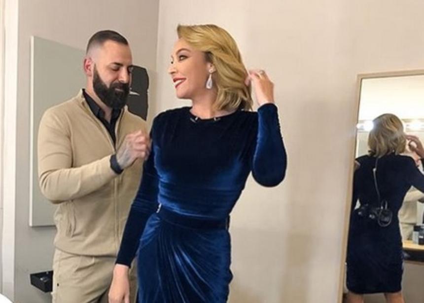 Η Τατιάνα μόλις φόρεσε το τέλειο X-mas φόρεμα!