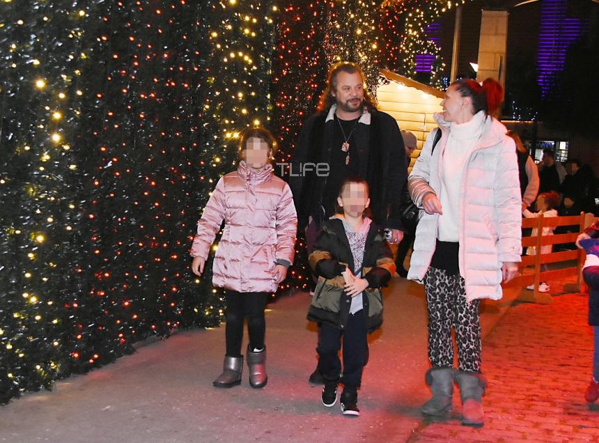 Χρήστος Δάντης: Χριστουγεννιάτικες βόλτες με την πρώην σύζυγό του και τα παιδιά τους! Φωτογραφίες | tlife.gr