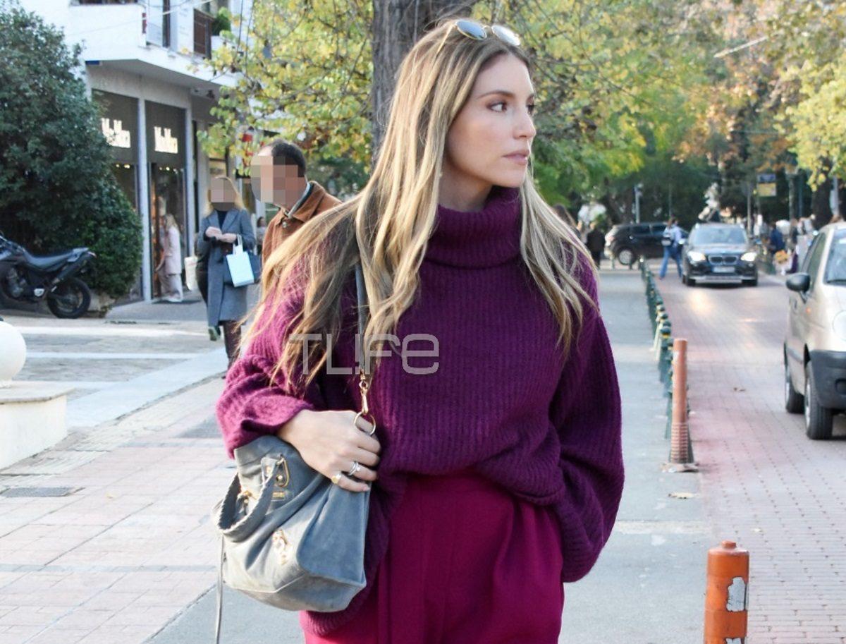 Αθηνά Οικονομάκου: Με άψογο street style look στην Κηφισιά! Φωτογραφίες | tlife.gr