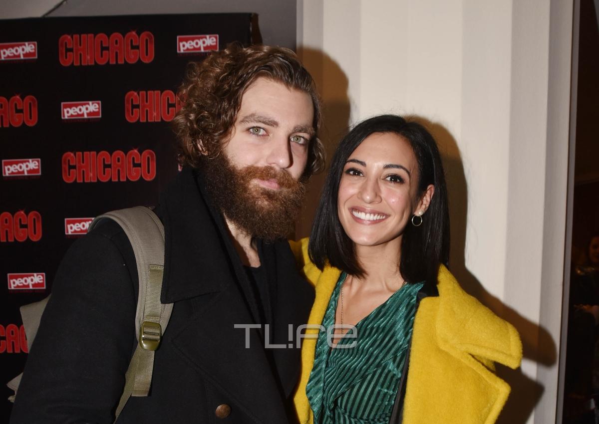 Ευγενία Σαμαρά: Αγκαλιά με τον σύντροφό της Γιάννη Ποιμενίδη στην πρεμιέρα του! [pics]