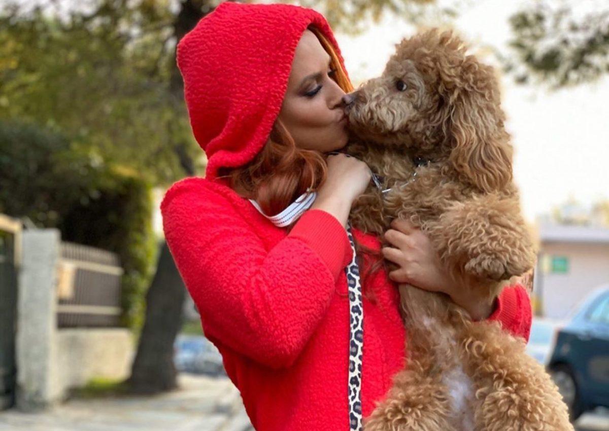 Σίσσυ Χρηστίδου: Βόλτες στην Πεντέλη με την Ginger! [pics,vid] | tlife.gr