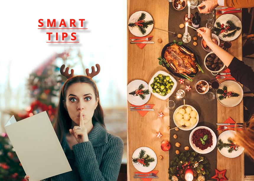 Tips για να απολαύσεις το Χριστουγεννιάτικο τραπέζι χωρίς να πάρεις κιλά!
