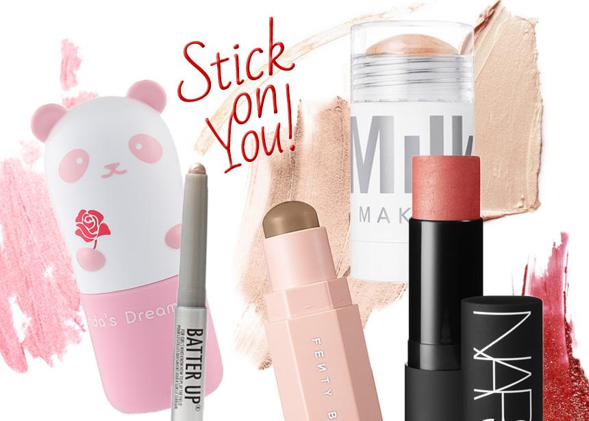 Δεν χρειάζεσαι πινέλα! Αυτά είναι τα πιο αγαπημένα μας προϊόντα σε stick! | tlife.gr