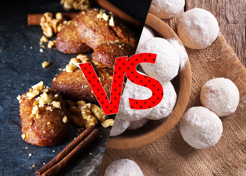 Κουραμπιέδες ή Μελομακάρονα; Ποια είναι η πιο υγιεινή επιλογή για αυτές τις γιορτές! | tlife.gr