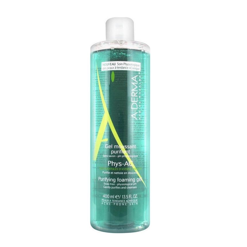 Gel καθαρισμού για το πρόσωπο, Phys-AC Aderma | tlife.gr