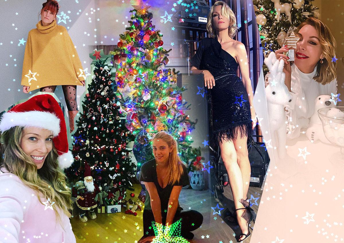 Τα πιο εντυπωσιακά χριστουγεννιάτικα δέντρα των Ελλήνων celebrities! Φωτογραφίες | tlife.gr