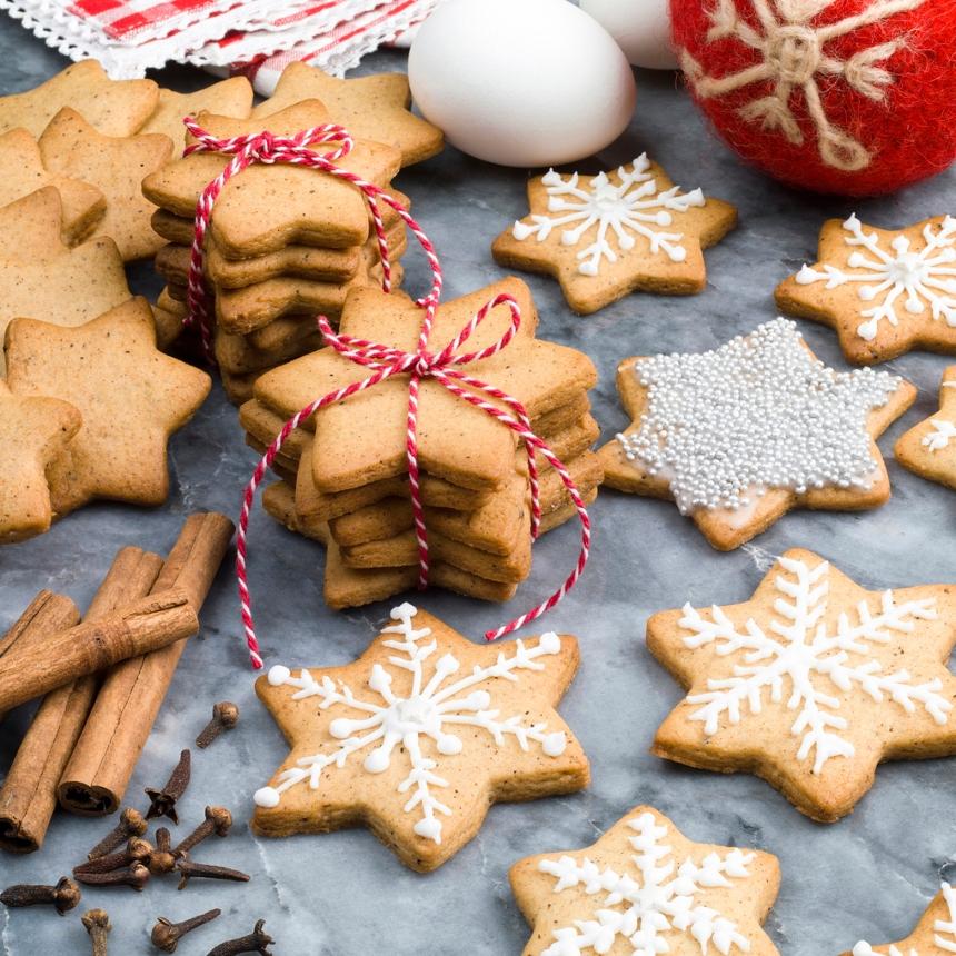 Πεντανόστιμα Χριστουγεννιάτικα μπισκότα