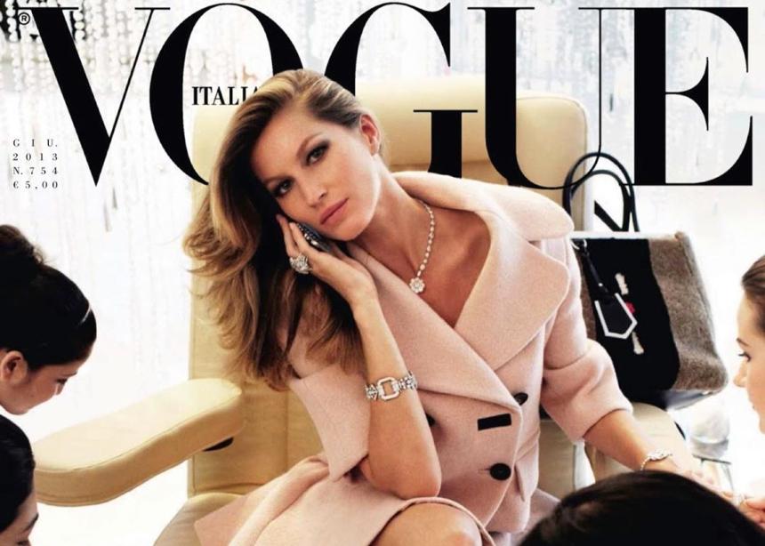Η Gisele έχει τα περισσότερα Vogue εξώφυλλα της δεκαετίας!