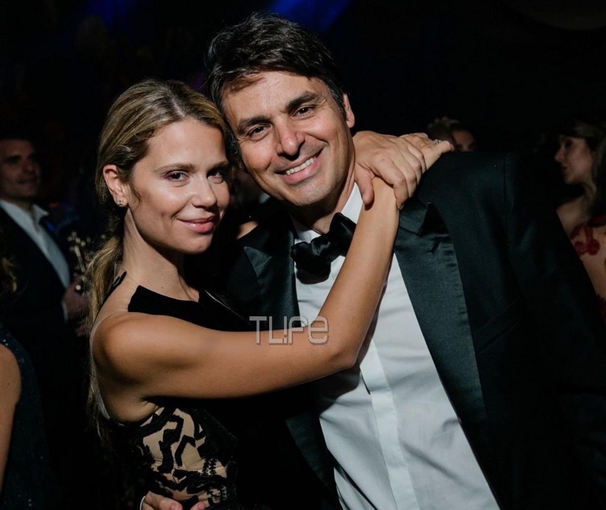 Νίκος Κριθαριώτης – Ναστάζια Δαρίβα: Αγκαλιά στον γάμο της χρονιάς! Φωτογραφία