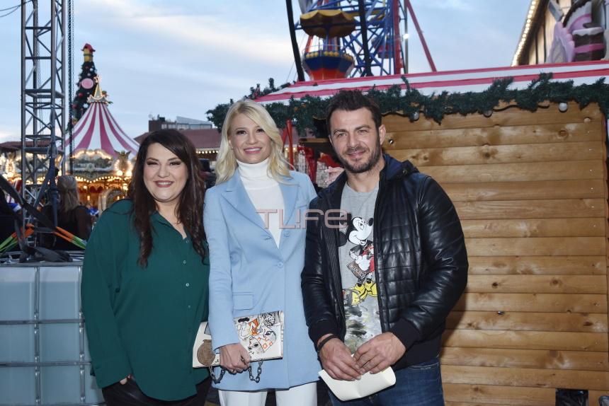 Φαίη Σκορδά: Σε Χριστουγεννιάτικη γιορτή στην Τεχνόπολη, για καλό σκοπό! Φωτογραφίες