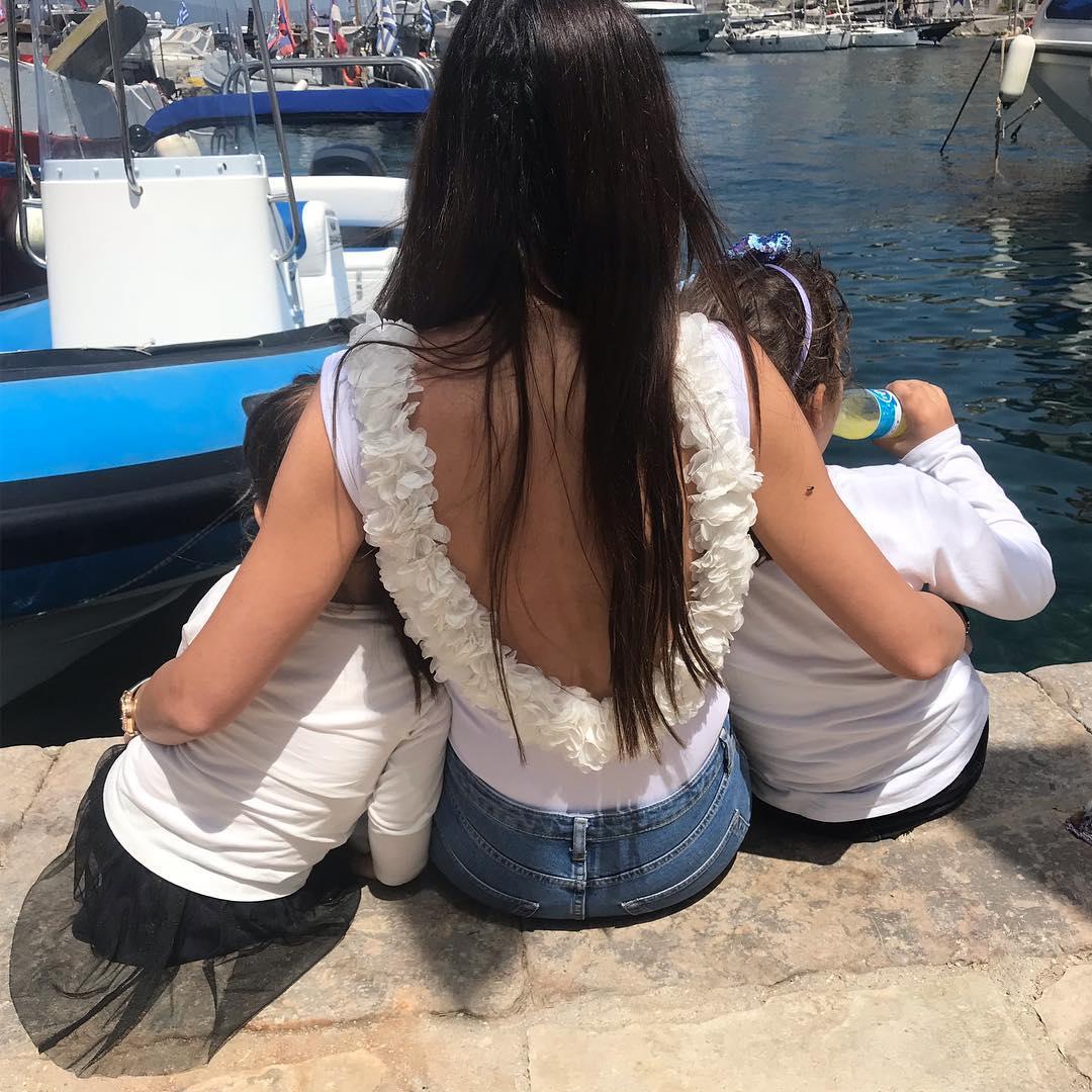 Ιωάννα Σρόιτερ: Η πιο τρυφερή φωτογραφία με την κόρη της και τον Αντώνη Σρόιτερ!
