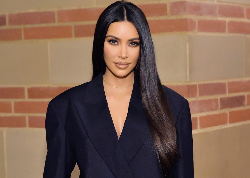 Η Kim Kardashian με δανεικό φόρεμα; | tlife.gr