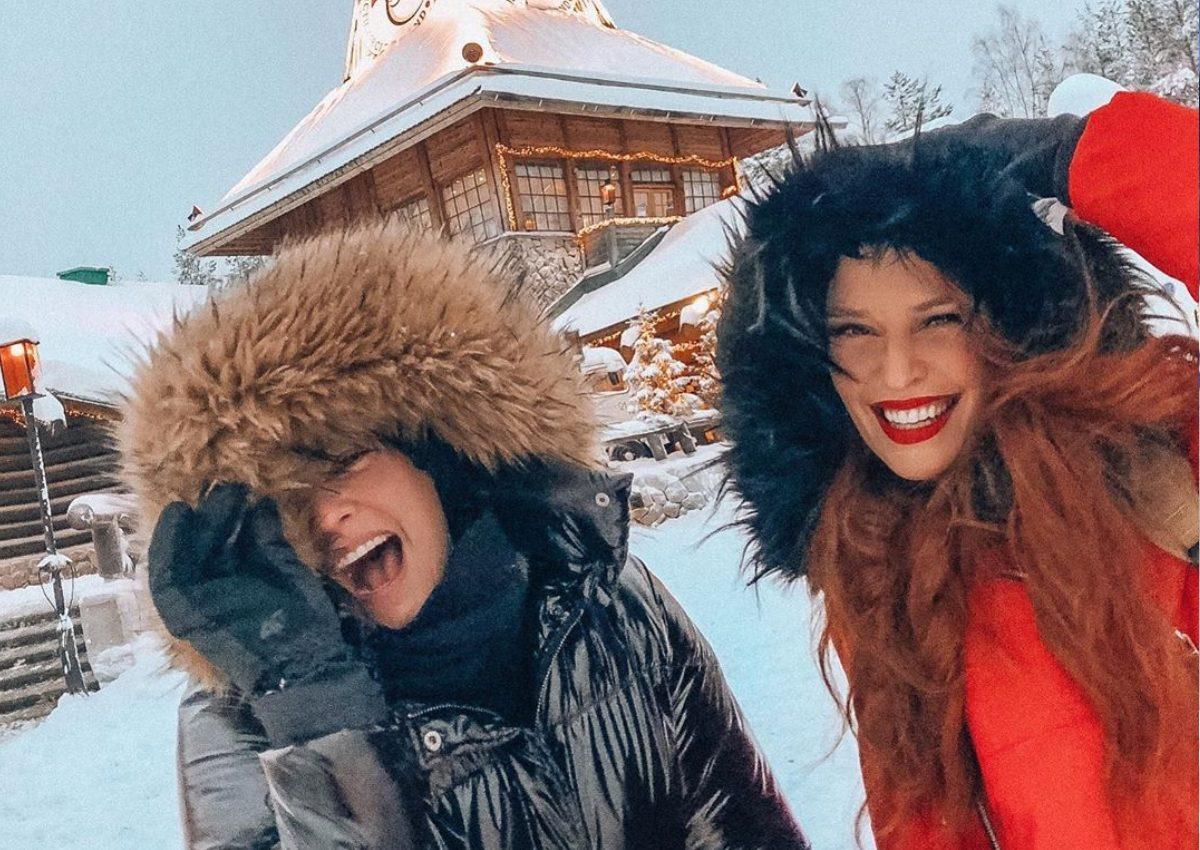 Σίσσυ Χρηστίδου – Μαρία Κορινθίου: Μαγικές στιγμές στη Λαπωνία με τα παιδιά τους! [pics, vids] | tlife.gr