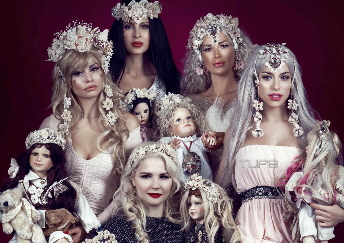 Τέσσερις γνωστές Ελληνίδες μεταμορφώθηκαν σε κούκλες και κέρδισαν τις εντυπώσεις! [pics]