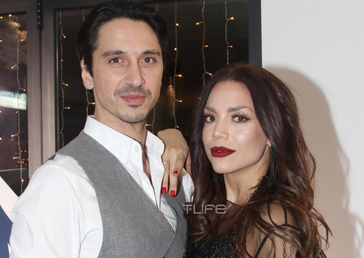 Κρυσταλλία: Σπάνια κοινή δημόσια εμφάνιση με τον σύζυγό της! [pics]