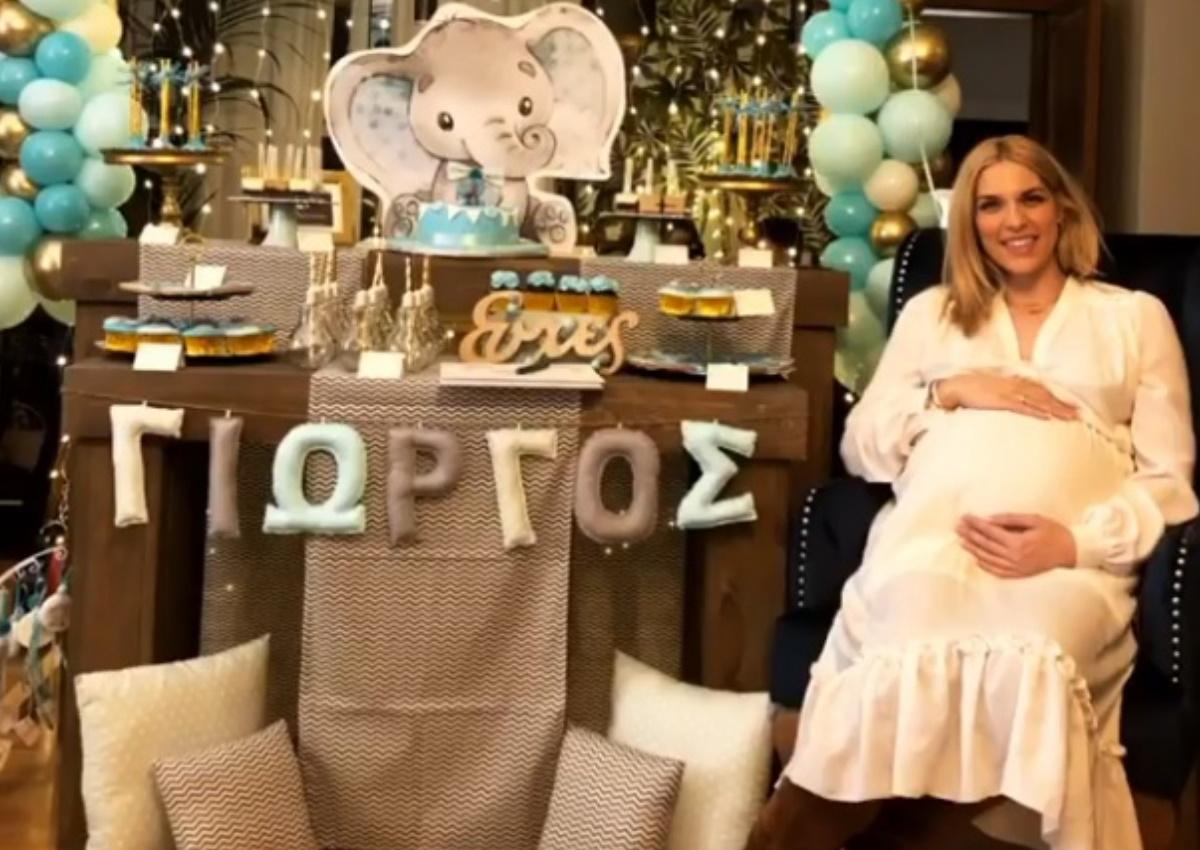 Μαντώ Γαστεράτου: Το εντυπωσιακό baby shower που έκανε λίγο πριν γίνει μανούλα! [pics]